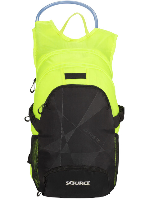 SOURCE Fuse Air Trinkrucksack 3+9l Black/Florescent Yellow